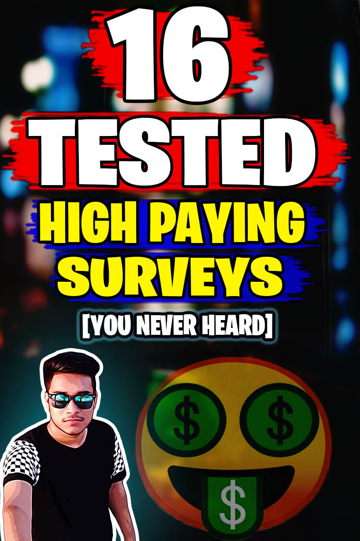 High Paying Online Surveys
