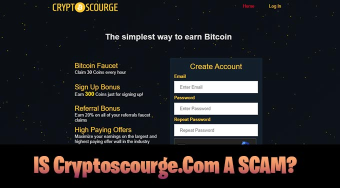 IS Cryptoscourge.Com A SCAM Can You Earn Free BitCoin